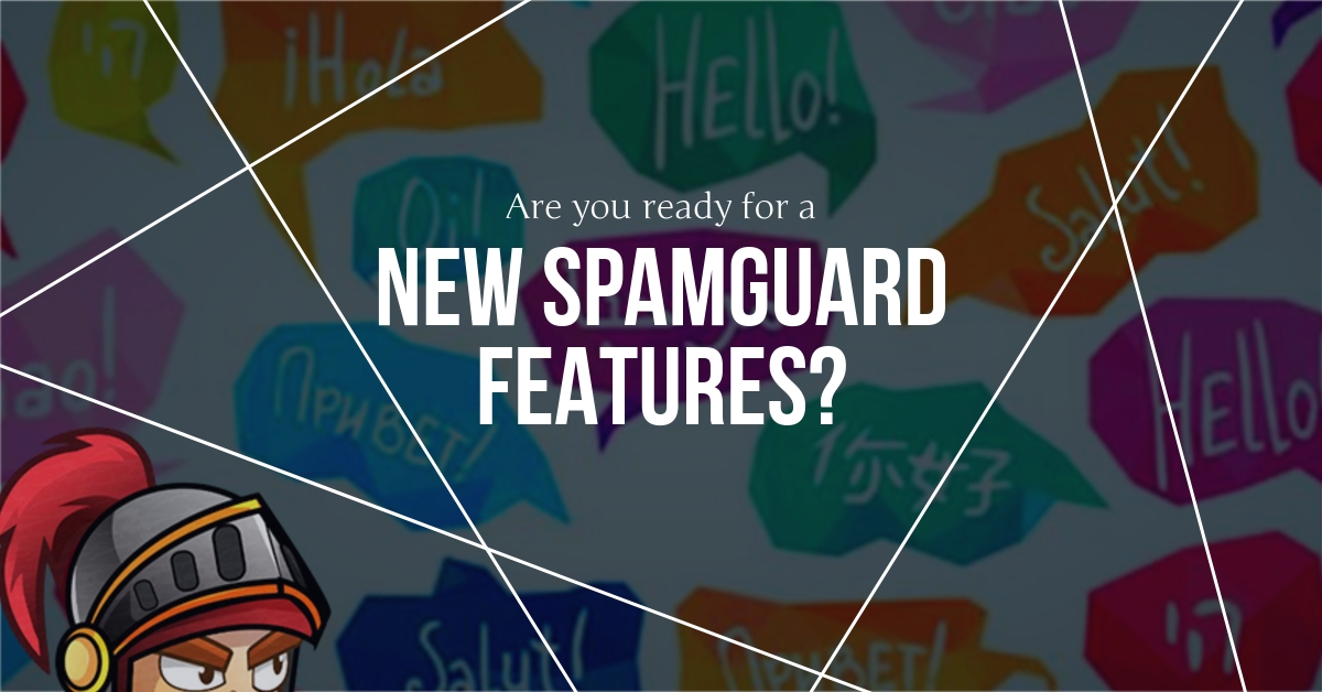 New features Spamguard. What new will surprise you with the service and what functions were added.