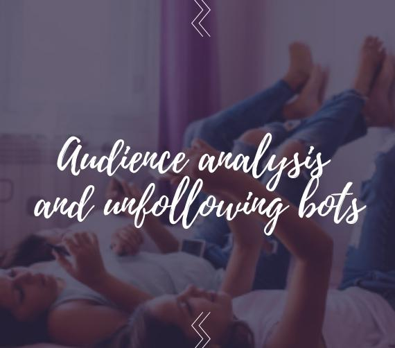 Audience analysis and unfollowing bots using Spamguard: step by step instructions