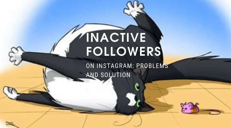 Inactive followers on Instagram: problems and solution