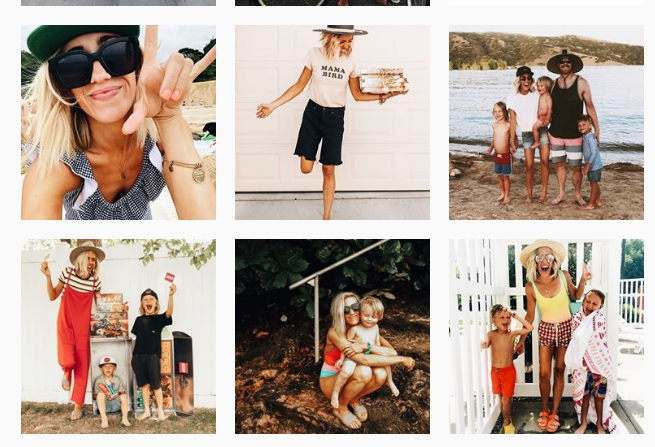 mom blog instagram